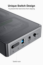 Load image into Gallery viewer, USB 3.0 Mesh 3.5 Inch HDD Enclosure Support UASP, SA01003