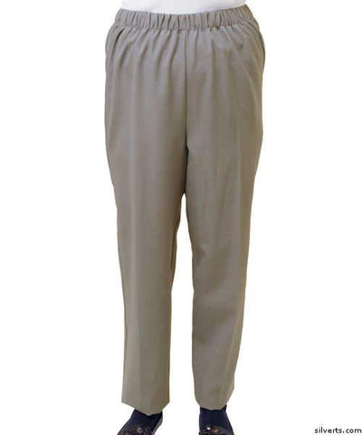Womens Arthritis Adaptive Pants - Adjustable Easy Touch Fasteners - gloriiiluxe-adaptive