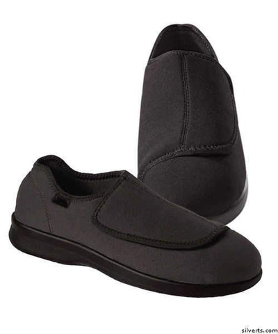 Mens Stretch Shoe With Adjustable Strap - gloriiiluxe-adaptive