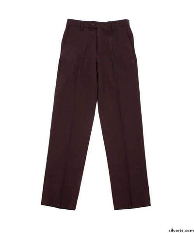 Mens Washable Dress Pants - Easy Care Trousers - Wide Leg Pants - gloriiiluxe-adaptive