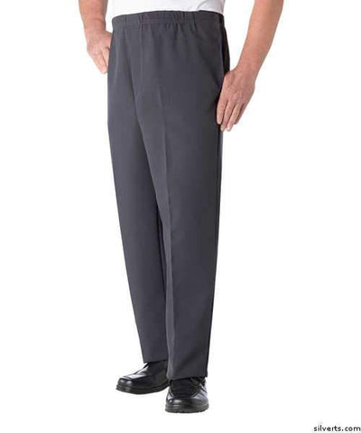 Mens Easy Access Open Side Pants  - Arthritis Easy Mens Access Clothing - gloriiiluxe-adaptive