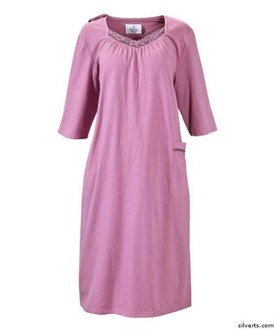 Womens Hospital Nursing Home Adaptive Patient Gowns - gloriiiluxe-adaptive