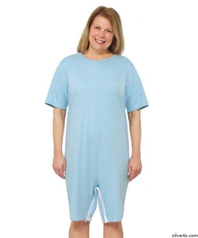 Caregiver Incontinence Dignity Suit - Great For Homecare & Nursing Home Dementia Patients - gloriiiluxe-adaptive
