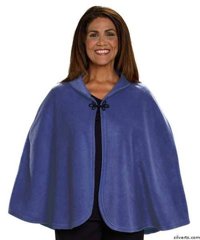 Womens Bed Jacket Cape - Bed Fleece Shawl - Ladies Bed Jacket For Hospitals - gloriiiluxe-adaptive