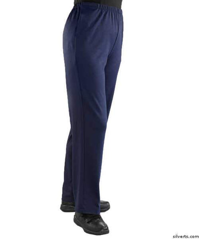 Soft Knit Arthritis Pants With Easy Access Side Openings - Nursing Home Clothing - gloriiiluxe-adaptive