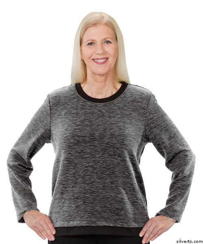 Pretty Adaptive Sweater - Open Back Dressing At It's Best - gloriiiluxe-adaptive