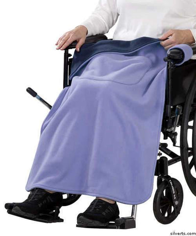Wheelchair Blanket Cover For Women & Men - Wheel Chair Cover - gloriiiluxe-adaptive