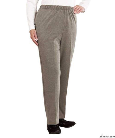 Womens Soft Knit Adaptive Wheelchair Users Pant - Disabled Clothes - Wheelchair Pants - gloriiiluxe-adaptive