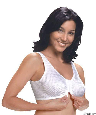 Front Closure Comfort Bras - Fits Cup B To Cup D D - gloriiiluxe-adaptive