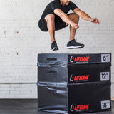 "Lifeline Foam Plyo Box - 6""_7"