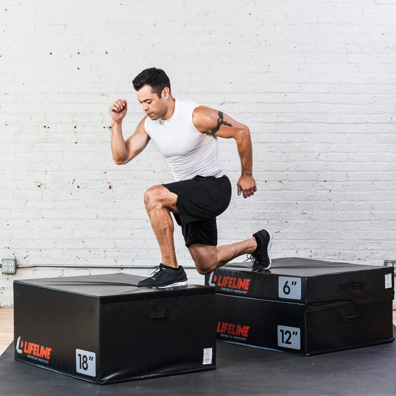 "Lifeline Foam Plyo Box - 6""_8"