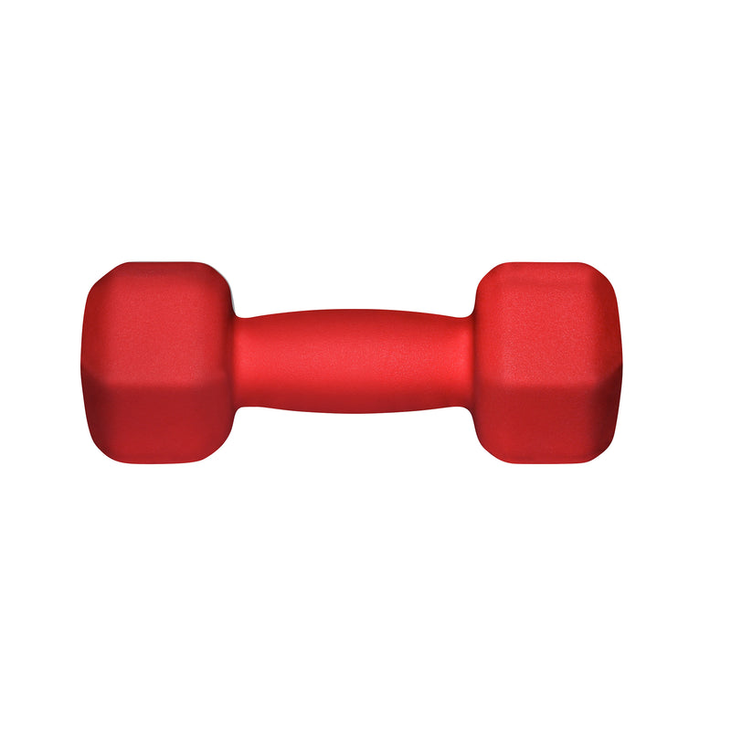 Lifeline Hex Neoprene Dumbbell - 6lb_4