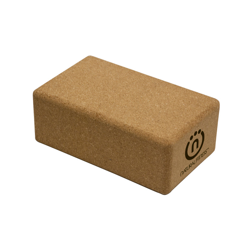 Natural Fitness Cork Yoga Block_1