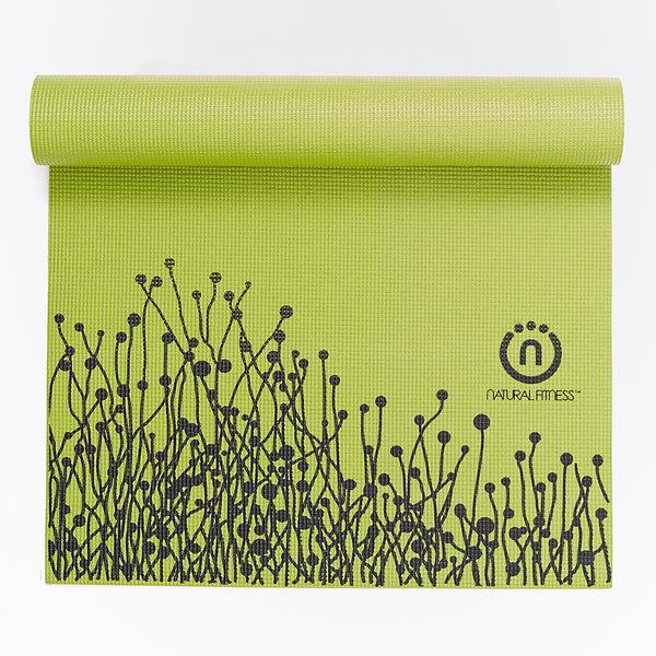 Natural Fitness Eco-Smart Yoga Mat - Moss/Night_1