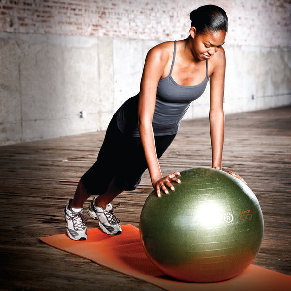 Natural Fitness PRO Burst Resistant Exercise Ball- 65cm_4