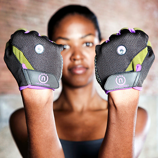 Natural Fitness Wrist Assist Glove- M_2