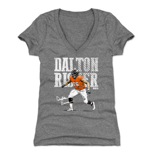 Dalton Risner Women's V-Neck T-Shirt | 500 LEVEL