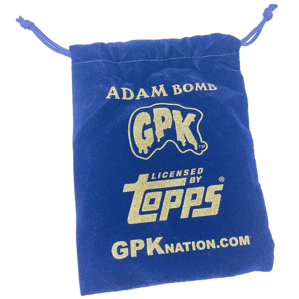 Happy Hanukkah Blue Adam Bomb Ornament only 50 made Officially Licensed Topps Garbage Pail Kids GPK 35th Anniversary