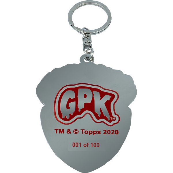 GPK-CC-005 YELLOW Adam Bomb GPK Cloisonné Ornament Emblem Keychain: only 100 made