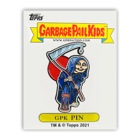 GPK-PP-011 Topps Officially Licensed GPK Grim Jim / Beth Death Garbage Pail Kids Limited Edition pins