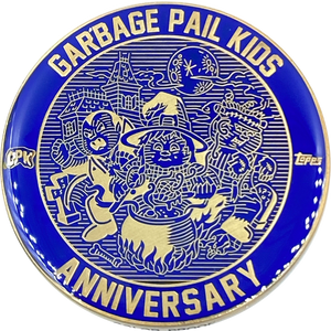 Blue Color Proof Coin 002 Topps Officially Licensed challenge coin Garbage Pail Kids GPK Nation