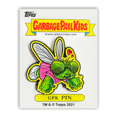 GPK-PP-006 Topps Officially Licensed GPK Buggy Betty / Green Jean Garbage Pail Kids Limited Edition pins