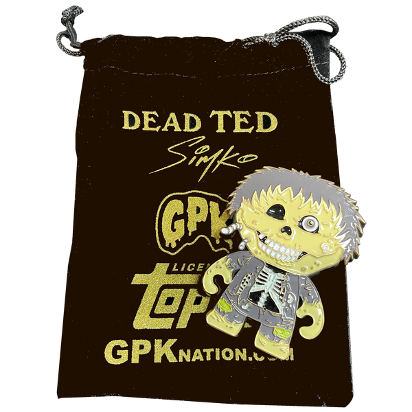Dead Ted OS1 Card Art Officially Licensed Topps GPK Simko Challenge Coin only 100 made