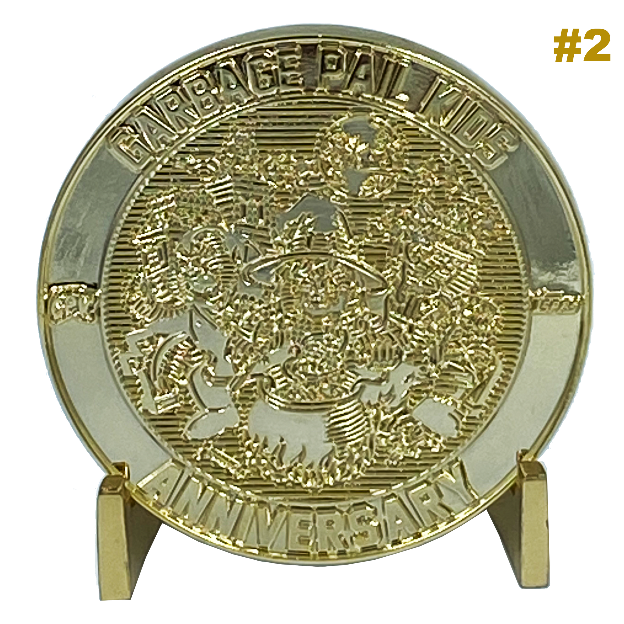 GPK 24KT Gold Plated Topps Officially Licensed Challenge Coin #2