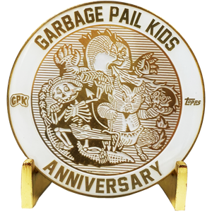 GPK White Cloisonné Topps Officially Licensed Challenge Coin #3