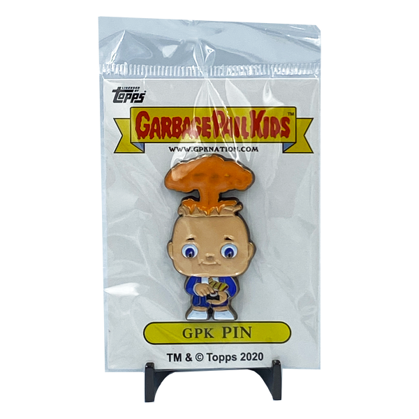 Adam Bomb GPK Topps Officially Licensed Limited Edition Garbage Pail Kids Pin - increment 2