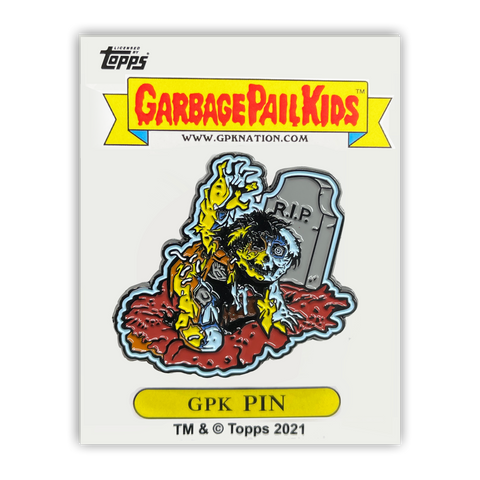 GPK-PP-010 Topps Officially Licensed GPK Jay Decay / Dead Ted Garbage Pail Kids Limited Edition pins