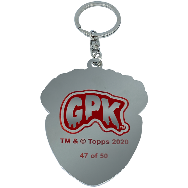 GPK-CC-006 WHITE Adam Bomb GPK Cloisonné Ornament Emblem Keychain: only 50 made