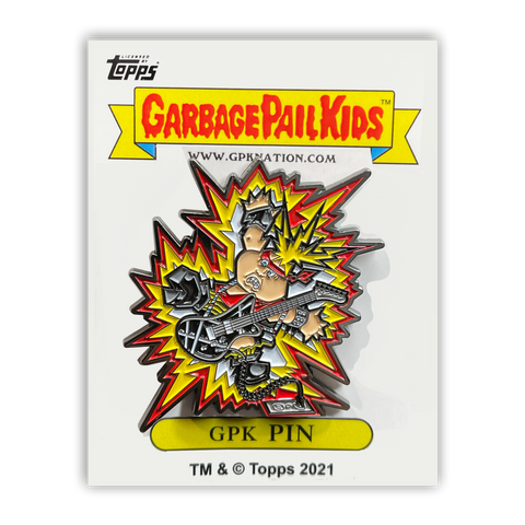 GPK-PP-003 Topps Officially Licensed GPK Live Mike / Jolted Joel Garbage Pail Kids Limited Edition pins