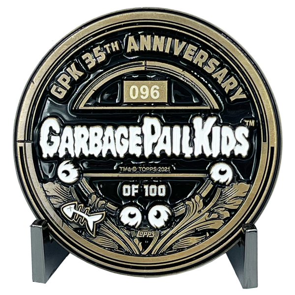 Live Mike Officially Licensed Topps Garbage Pail Kids Challenge Coin Limited Edition of 100 GPK Nation