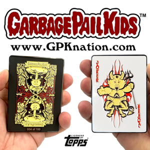 Luke Warm GPK Challenge Coin Officially Licensed Topps Garbage Pail Kids Playing Cards Challenge Coin