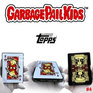 Mick Dagger GPK Challenge Coin Officially Licensed Topps Garbage Pail Kids Playing Cards Challenge Coin