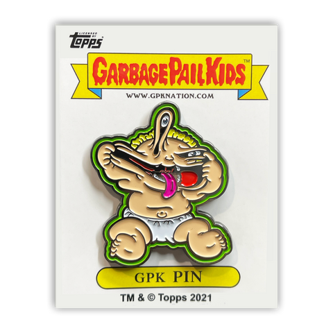 GPK-PP-004 Topps Officially Licensed GPK Patty Putty / Muggin' Megan Garbage Pail Kids Limited Edition pins