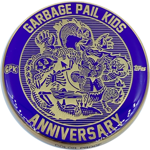 Purple Color Proof Coin 003 Topps Officially Licensed challenge coin Garbage Pail Kids GPK Nation