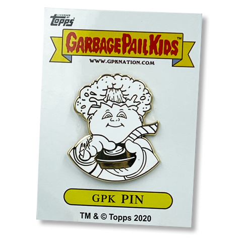 ADAM BOMB & BLASTED BILLY Officially Licensed GPK Pin by Topps Artist SIMKO artist collab collection Garbage Pail Kids