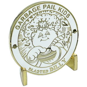 BLASTED BILLY Challenge Coin Officially Licensed GPK by Topps Artist SIMKO artist collab collection Garbage Pail Kids