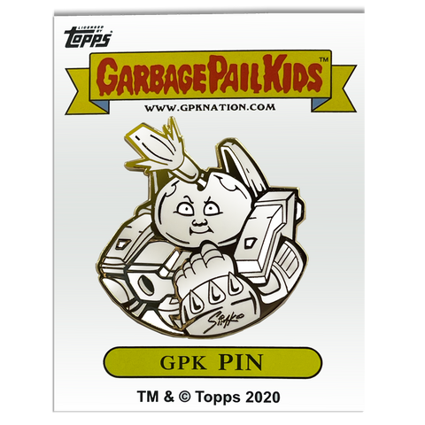 GPK-AA-009 SIMKO Roy Bot / Hot Head Harvey Topps Officially Licensed Artist Collaboration GPK Pin Garbage Pail Kids