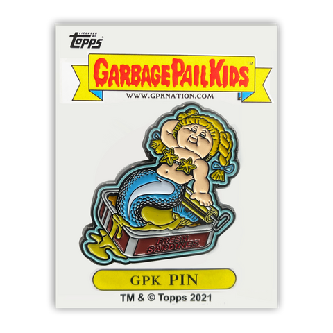 GPK-PP-008 Topps Officially Licensed GPK Fishy Phyllis / Smelly Sally Garbage Pail Kids Limited Edition pins