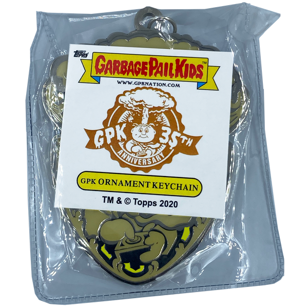 GPK-CC-004 YELLOW Adam Bomb GPK Cloisonné Ornament Emblem Keychain: only 100 made
