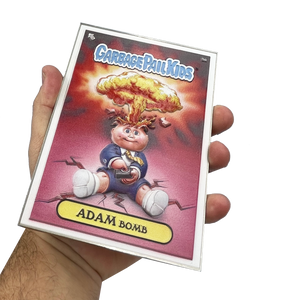 3D Full Color Adam Bomb GPK OS1 Metal Card Garbage Pail Kids 35th Anniversary Officially Licensed Topps Medallion