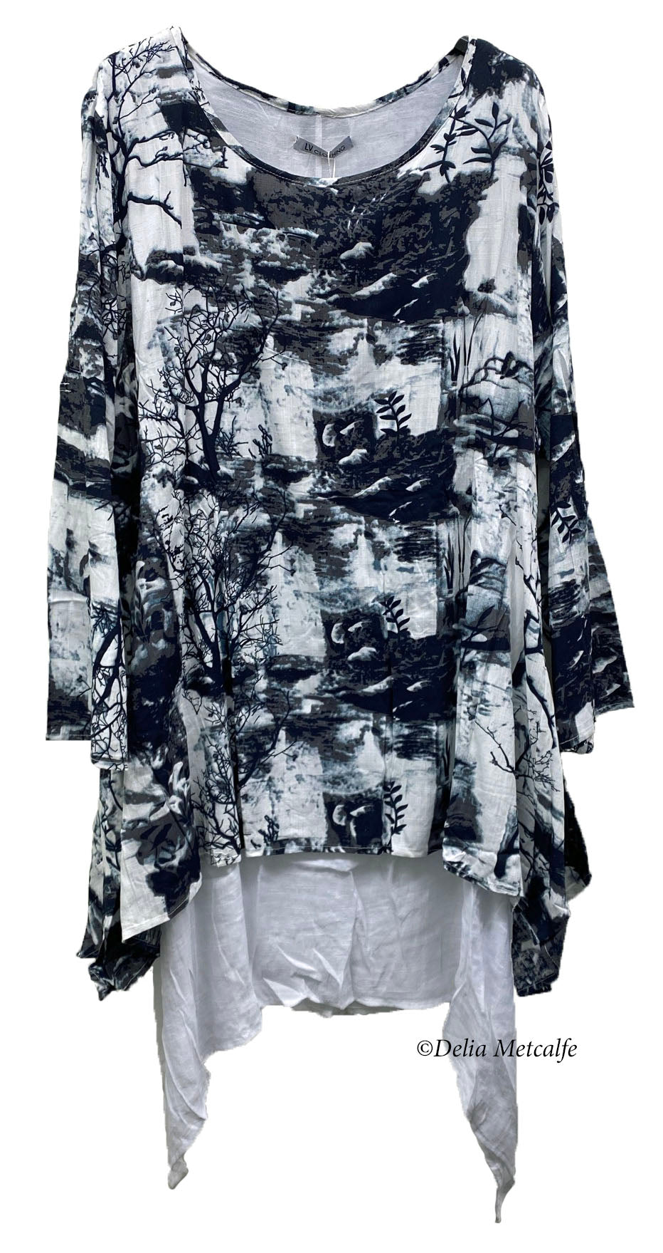 Cotton Forrest Print Tunic