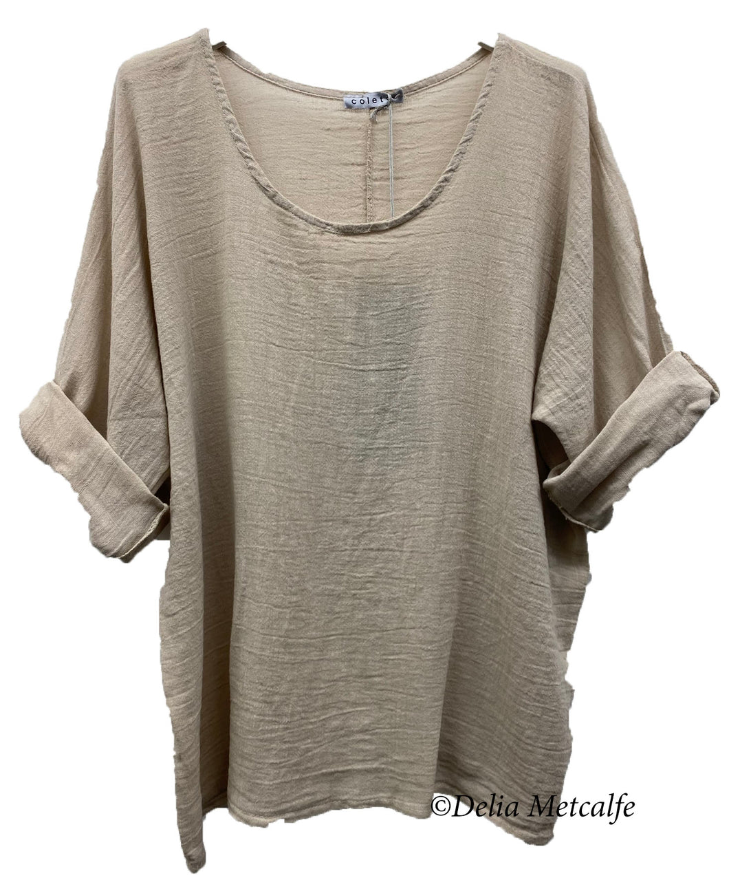 3/4 Sleeve Cotton Top