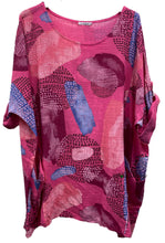 Load image into Gallery viewer, Bubble Print Linen Cotton Top