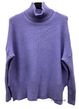Load image into Gallery viewer, Shorter Knitted Polo Jumper