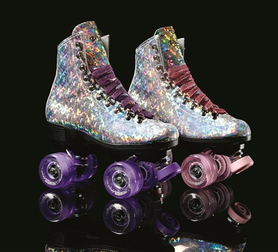 Sure-Grip Prism Roller Skate (Purple Laces/Wheels)