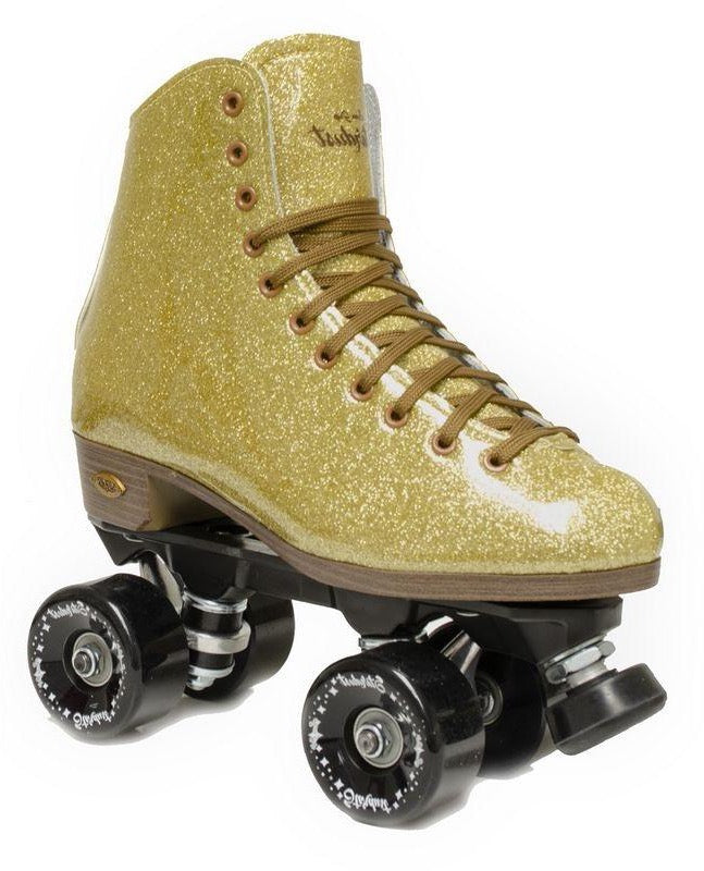Sure-Grip Stardust Outdoor Roller Skate {Gold}
